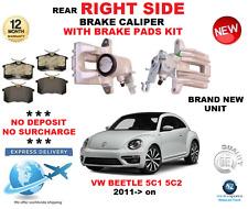 für VW Käfer 2011- > Hinterachse rechts Bremssattel+Bremsbeläge Set