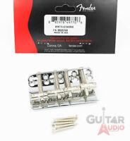 Genuine Fender '75 Vintage Reissue 70s Precision/P Jazz Bass Bridge with Screws