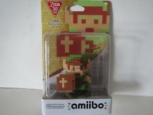 Nintendo Link 8 Bit Amiibo - The Legend of Zelda - Brand New - Free Shipping