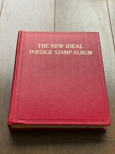Commonwealth Stamp Collection in New Ideal Album Huge Cat Value Very Strong GB