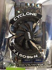 MSI Nvidia GeForce GTX 460 PCI-E Video Card N460GTX Cyclone 1GD5/OC