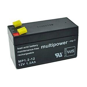 Multipower MP1.2-12 12V 1,2Ah VdS AGM (VRLA)