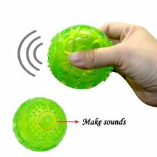 Small Dog Playing Ball Rubber Squeaking Waterproof Training Teeth Cleaning Toy