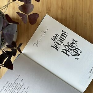 John Le Carre, Signed 1st / 1st Edition, A Perfect Spy, 1986