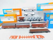 BY221-2# 7x Roco H0/DC Güterwagen DB: 4334 A + 46239 etc, gute 2. Wahl/6x OVP