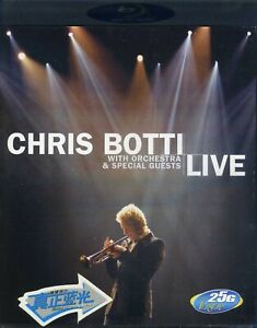 Chris Botti Live With Orchestra & Special Guests, Blu-ray, 2007