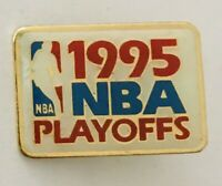 1995 NBA Playoffs Basketball Retro Authentic Pin Badge Rare Vintage (N22)
