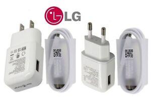 OEM  Charging Wall Charger Cable For LG V20 G6 G5 V35 V30 V30S G7