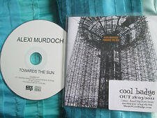 Alexi Murdoch Towards The Sun City Slang ‎– SLANG0680165P Promo CD Album