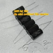 Mkp 100V7.5uf 755j Axial metallized film capacitor HiFi Audio parts