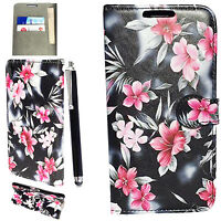 Magnetic Leather Side Flip Wallet Book Case Cover For Sony Xperia XA
