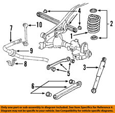 GM OEM Rear Suspension-Coil Spring 25783732