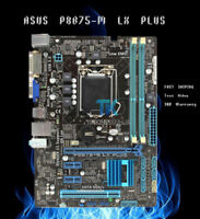 for ASUS P8B75-M LX PLUS Intel B75 Motherboard LGA1155 DDR3 PCIE 3.0