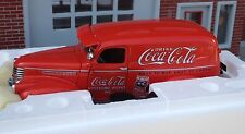 Danbury Mint 1941 Coca Cola Delivery Truck 1/24 w 6 Pc Custom Accessory Grouping