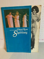 An Evening With Diana Ross & The Supremes 1968 Official Tour Program