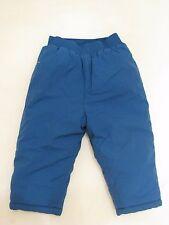 Carter's Snow Pants Boy's Size 18 Months Royal Blue