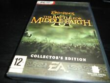 Lord of the Rings: Battle for Middle Earth II Collectors Edition  Pc game