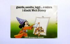 VECCHIO ADESIVO / Old Sticker DISNEY TOPOLINO MICKEY MOUSE CGD MUSICA (cm 15x10)