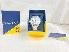 Nautica N/83 Water Resistance White Watch