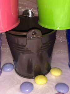 Charmed Mini Beach Sand Plastic Buckets Party Favors Candy Box Baby Shower 12