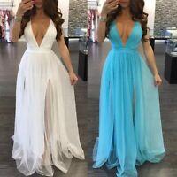 Vestidos Largos de Moda Para Mujer Maxi Elegantes Formales Prom Quinces Boda