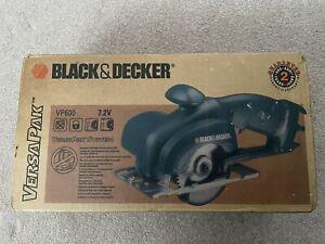 Black & Decker Cordless Electric Saw VersaPak VP600 7.2v NEW & BOXED BODY ONLY