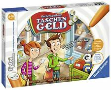 Ravensburger tiptoi Kinderspiel 00779 Rechenspaß Taschengeld  Lernspiel  B-WARE