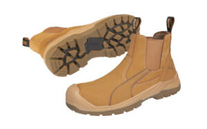 PUMA TANAMI boots Nubuck Safety CompositeToe WORK shoe BOOT 630377 + 30 FREEpens