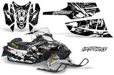 Arctic Cat Firecat Sabercat Graphics Kit Snowmobile Decals Sled Wrap NIGHTWOLF W