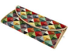 Tapicería tejida Signare Señoras Monedero Billetera para tarjetas billetes monedas-Triángulo