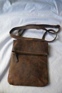"JLP Melbourne "" Amazonas"" Leather shoulder, messenger bag...distressed leather"