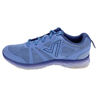 Vionic Womens 335 Miles ASR1429 Blue Running Shoes Lace Up Low Top Size 6.5