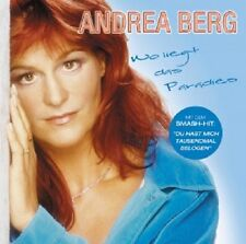 "ANDREA BERG ""WO LIEGT DAS PARADIES"" CD NEW!"