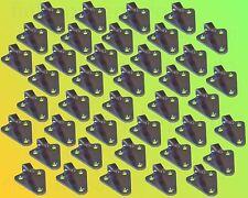 40 x Dreiloch Planenhaken verzinkt - Dreilochhaken Netz Haken Anhänger