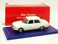 M4 1/43 - Alfa Romeo 1750 Blanche 1968