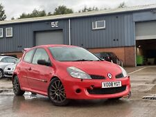 BREAKING ULTRA RED Renault Clio Sport 197 200 RenaultSport