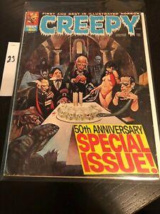 Creepy Horror Magazine January 1973 #50 RARE!