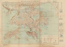 1949 War Office Map of Hong Kong