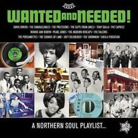 WANTED AND NEEDED! A Northern Soul Playlist NEW & SEALED LP VINYL (OUTTA SIGHT)