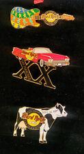 Hard Rock Cafe SAN FRANCISCO 20th Anniversary 3 Pin Boxed Set LE 500