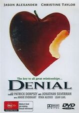 DENIAL - The Key To All Great Relationsh - ALEXANDER, JASON - DVD All Regions
