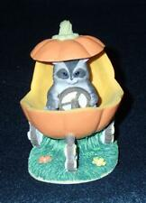 Fitz and Floyd Charming Tails Jack O'Lantern Jalopy Halloween Figurine 85/410
