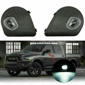 Fits For Dodge Ram 1500 2500  3500 4500 5500 R/L  LED Side Mirror Puddle Lights