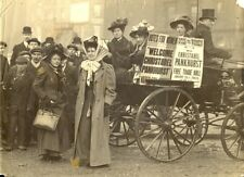 Christabel Pankhurst Suffragette 1909 in Manchester 7x5 Inch Reprint Photo