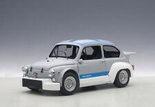 Autoart 72642 - 1/18 Fiat Abarth TCR 1000 1970-Matt Grey/Blue Stripes-nuevo