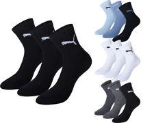 6 Paar Puma Unisex Short Crew Socken Strümpfe Sport  35-38 39-42 43-46 47-49