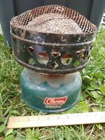 1960s Coleman 3500BTU Model 512 VTG CATALYTIC HEATER Green Camping Tent Old #2