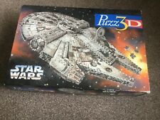 PUZZ 3D  STAR WARS MILLENIUM FALCON  NEW AND FACTORY SEALED CONTENTS WEAR TO BOX