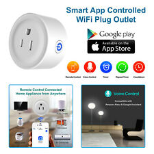 Smart Mini Socket WiFi Plug Outlet Switch work w/ Echo Alexa Google Home Remote