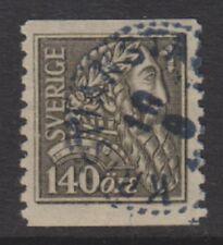 Sweden - 1921, 140 ore Liberation of Sweden stamp - Used - SG 145